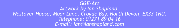 GGE-Art Artwork by Ian Shapland,  Westover House, Moor Lane, Cr